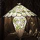 """Освещение ручной работы. Ярмарка Мастеров - ручная работа. Купить Лампа настольная Тиффани  """"Розы"""". Handmade. Розы, витражное стекло"""