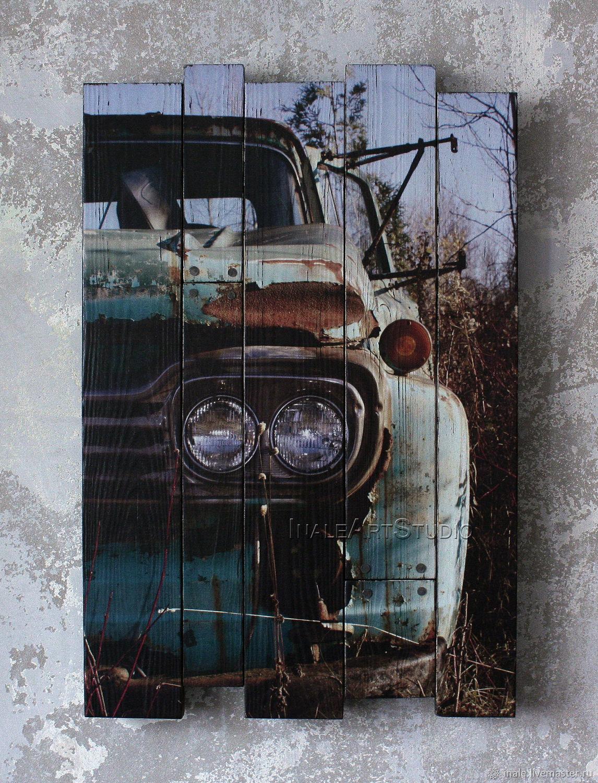 Pintura en las tablas de Old fellow, Pictures, Tomsk,  Фото №1