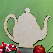 Материалы для творчества handmade. Livemaster - original item Decorative element Teapot, stand for hot, blank for tvor. Handmade.
