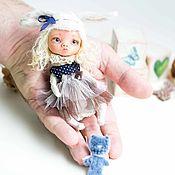 Куклы и игрушки ручной работы. Ярмарка Мастеров - ручная работа Тедди долл Алиса. Handmade.