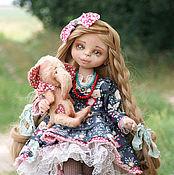 Куклы и игрушки ручной работы. Ярмарка Мастеров - ручная работа Вася для мамонтенка. Текстильная кукла.. Handmade.