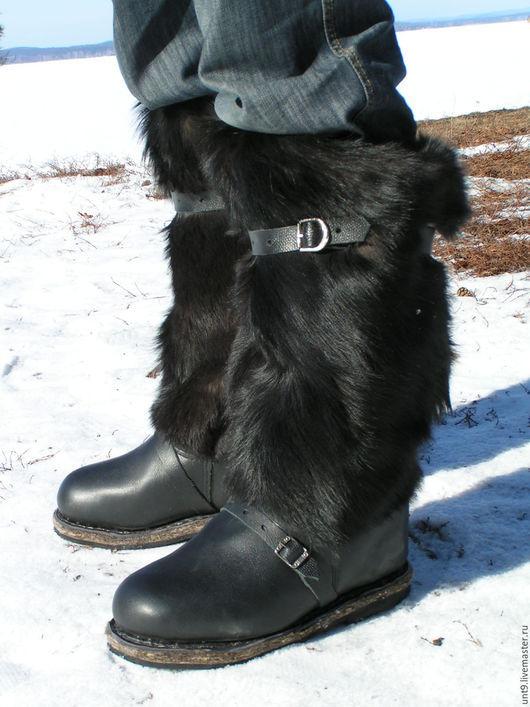 Обувь ручной работы. Ярмарка Мастеров - ручная работа. Купить Унты мужские, унты женские, унты детские. Handmade. Разноцветный