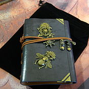 handmade. Livemaster - original item notebooks: Notepad steampunk