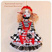 Куклы и игрушки ручной работы. Ярмарка Мастеров - ручная работа кукла тильда АРЛЕКИНА Резерв. Handmade.
