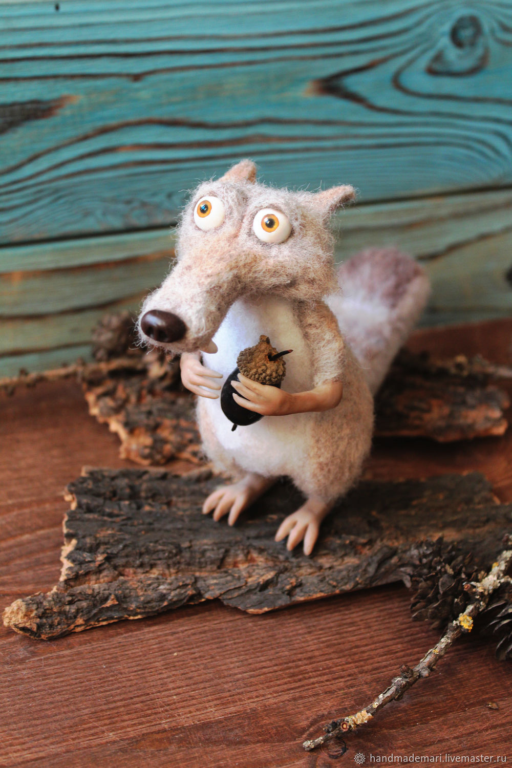 Squirrel from the ice age Scrat, Stuffed Toys, Moscow,  Фото №1