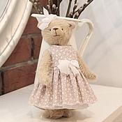 Куклы и игрушки ручной работы. Ярмарка Мастеров - ручная работа Мишка тедди Машенька - мягкая игрушка. Handmade.