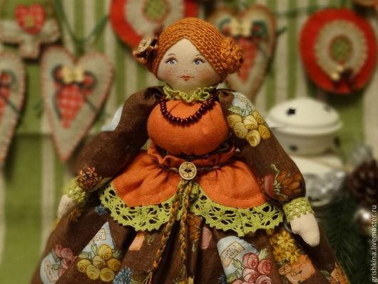 """Кухня ручной работы. Ярмарка Мастеров - ручная работа. Купить Кукла на чайник """"Праздничная"""". Handmade. Кукла на чайник, кукла в подарок"""