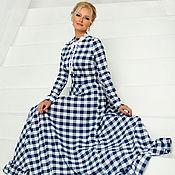 Одежда ручной работы. Ярмарка Мастеров - ручная работа Платье -РЧ-74-Катрин. Handmade.