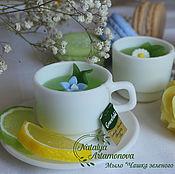 """Мыло """"Чашечка травяного чая"""" ручной работы"""