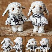 Куклы и игрушки ручной работы. Ярмарка Мастеров - ручная работа Неразлучные овечки. Handmade.
