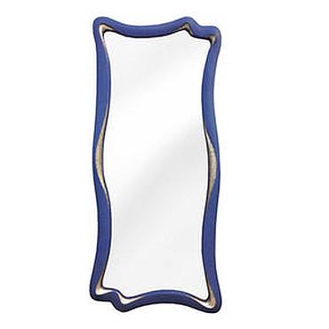 Для дома и интерьера ручной работы. Ярмарка Мастеров - ручная работа Синее современное зеркало. Handmade.