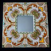 Для дома и интерьера ручной работы. Ярмарка Мастеров - ручная работа Зеркало интерьерное Мimosa aroma. Handmade.