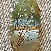 """Украшения ручной работы. Ярмарка Мастеров - ручная работа Кулон """"Весенний ветер"""". Handmade."""