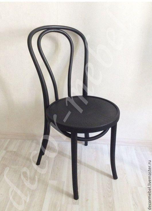Мебель ручной работы. Ярмарка Мастеров - ручная работа. Купить Венский стул черный тонет. Handmade. Черный, Мебель, дизайн