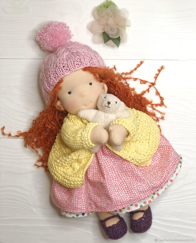 Вальдорфская кукла, Вальдорфские куклы и звери, Москва,  Фото №1