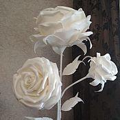 Для дома и интерьера manualidades. Livemaster - hecho a mano Una lámpara de pie-el arbusto de rosas. Handmade.