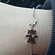Браслеты ручной работы. Ярмарка Мастеров - ручная работа. Купить браслет для мамы девочка звезда серебро. Handmade. браслет для мамы