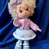 Куклы и пупсы ручной работы. Ярмарка Мастеров - ручная работа Кукла вязанная.Кукла коллекционная.Кукла крючком.Кукла Снегурочка.Doll. Handmade.