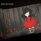 """Сумки и аксессуары ручной работы. Ярмарка Мастеров - ручная работа Косметичка """"Forest Girl"""". Handmade."""