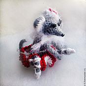 Куклы и игрушки ручной работы. Ярмарка Мастеров - ручная работа Прима-балерина Большого театра ) подарок балерине вязаная мышка мышь. Handmade.