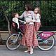 Юбки ручной работы. Ярмарка Мастеров - ручная работа. Купить Family look Rose (юбки для мамы и дочки). Handmade. Коралловый