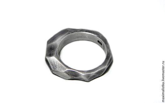 """Украшения для мужчин, ручной работы. Ярмарка Мастеров - ручная работа. Купить Кольцо """"Гайка"""" серебро. Handmade. Унисекс, женское кольцо"""