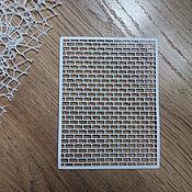 Материалы для творчества handmade. Livemaster - original item !Cutting scrapbooking BACKGROUND BRICKS-cardboard design. Handmade.