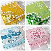 Подарки к праздникам ручной работы. Ярмарка Мастеров - ручная работа Коробки памяти (memory box), коробки воспоминаний.... Handmade.