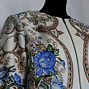 Одежда ручной работы. Ярмарка Мастеров - ручная работа Жакет Первая линия(из ППП). Handmade.