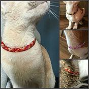 Зоотовары handmade. Livemaster - original item collar. Handmade.