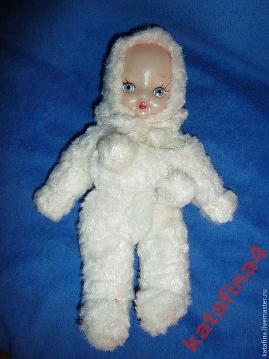 Винтажные куклы и игрушки. Ярмарка Мастеров - ручная работа. Купить Мягкая кукла СССР 32см. Handmade. Белый, кукла ссср