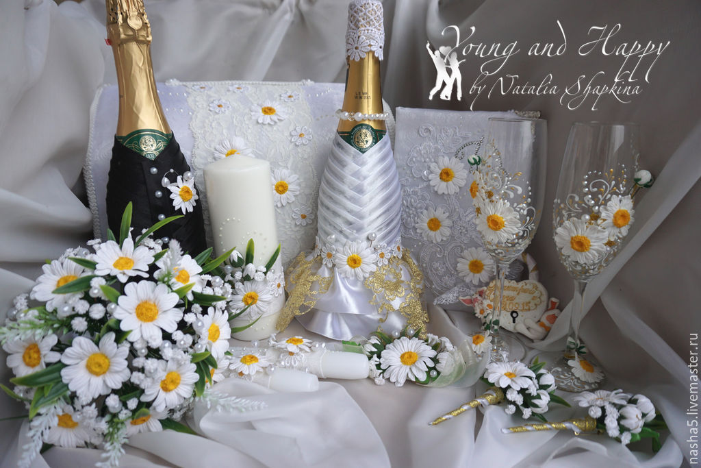 set wedding accessories collection 'Daisy', Sets accessories, Smolensk, Фото №1