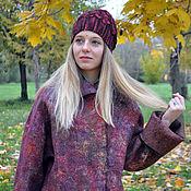 """Одежда ручной работы. Ярмарка Мастеров - ручная работа Валяное пальто """"Оцвели уж давно...."""""""". Handmade."""