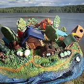 Куклы и игрушки ручной работы. Ярмарка Мастеров - ручная работа Чудо-юдо рыба-кит (2 шт). Handmade.
