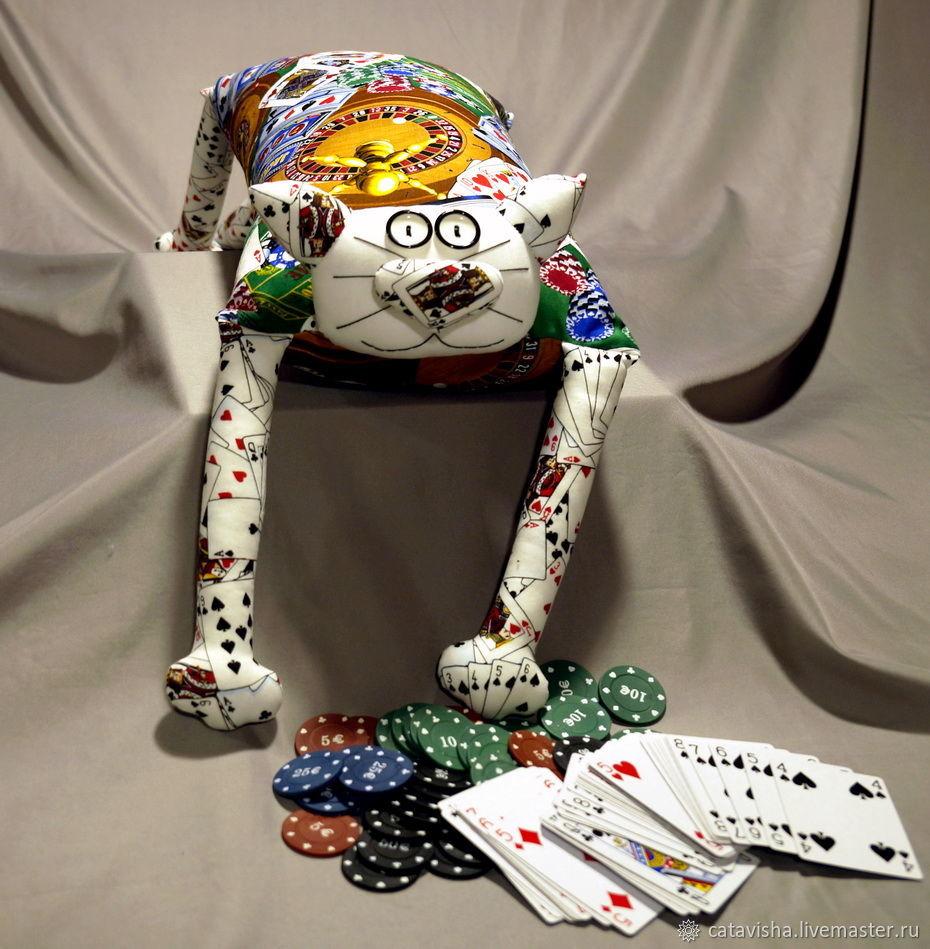 """Игрушка-подушка """"Радужный кот"""" Игрок, Мягкие игрушки, Королев,  Фото №1"""