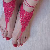 Украшения ручной работы. Ярмарка Мастеров - ручная работа Украшение для ног. Handmade.