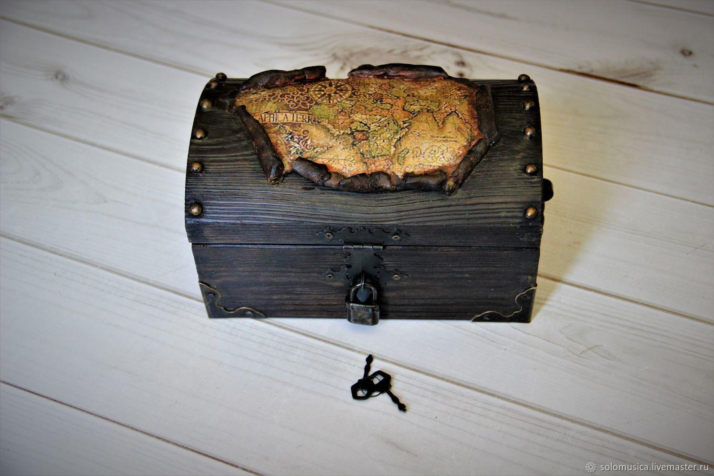 Box-treasure chest 'Pirate chest'3, Box, Krasnodar,  Фото №1