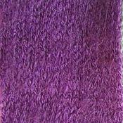 Ткани ручной работы. Ярмарка Мастеров - ручная работа Ткань трикотаж ангора фиолетовая. Handmade.