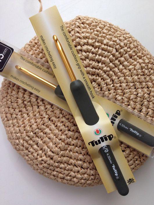 Вязание ручной работы. Ярмарка Мастеров - ручная работа. Купить Tulip Gold #4,5 японский крючок. Handmade. Крючок