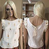 """Одежда handmade. Livemaster - original item Блузка """"Балерины"""". Handmade."""