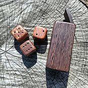 Сувениры и подарки handmade. Livemaster - original item Box with 3 cubes. Handmade.