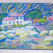 Картины и панно handmade. Livemaster - original item Pictures: The landscape of Provence oil on canvas. Handmade.