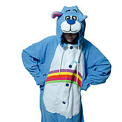 Субкультуры handmade. Livemaster - original item Costume kigurumi fleece Gummy Bear rainbow. Handmade.