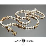 Necklace handmade. Livemaster - original item Chic Chrysanthemum Beads. Handmade.