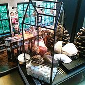 Для дома и интерьера ручной работы. Ярмарка Мастеров - ручная работа Домик для суккулентов. Handmade.