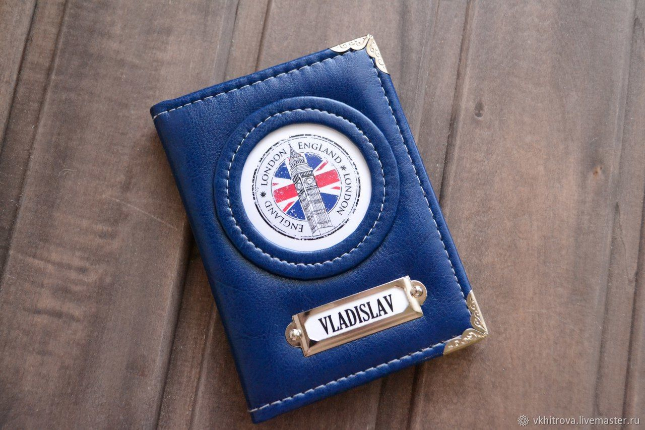Мужская обложка на паспорт, Обложки, Трехгорный, Фото №1