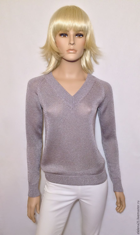 Пуловер с рукавом реглан доставка