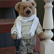 Мишки Тедди ручной работы. Ярмарка Мастеров - ручная работа Мишки Тедди: Медведь Эмиль (Emil) (30 см). Handmade.