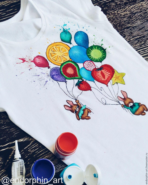 После того, как краска высохнет, прорисуем контуры якоря и ленты.
