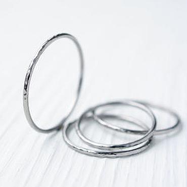 Украшения ручной работы. Ярмарка Мастеров - ручная работа Тонкое кольцо из титана, простое кольцо, кольцо титан. Handmade.